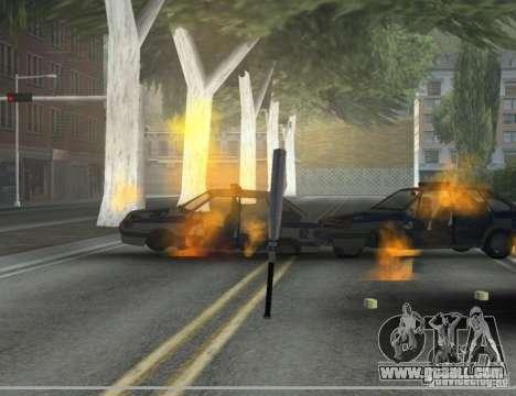 Pak Domestic weapons version 6 for GTA San Andreas third screenshot