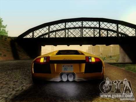Lamborghini Murcielago LP640-4 for GTA San Andreas back left view