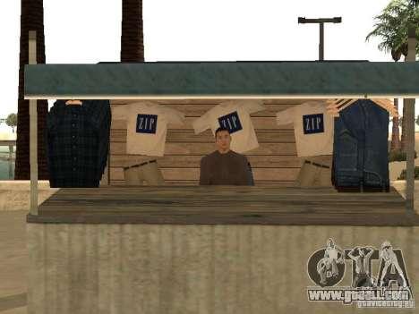 Market on the beach for GTA San Andreas eleventh screenshot