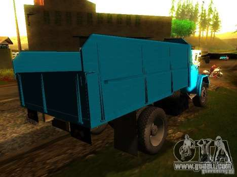 ZIL 131 Cupid for GTA San Andreas back left view