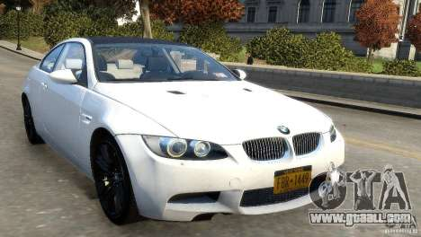 BMW M3 E92 2008 v1.0 for GTA 4 left view