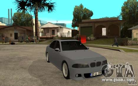 BMW 523i CebeL Tuning for GTA San Andreas back view