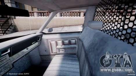 Chevrolet Impala Police 1983 [Final] for GTA 4 inner view