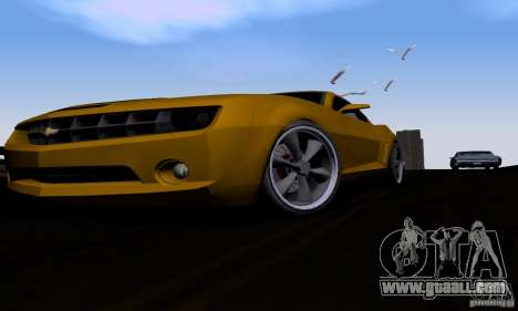 Chevrolet Camaro for GTA San Andreas inner view