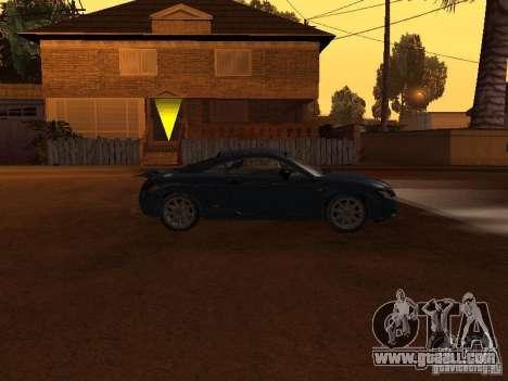 Audi TT 3.2 Quattro for GTA San Andreas back left view