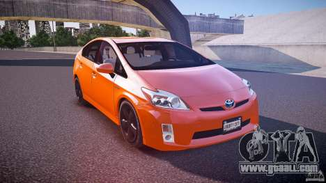 Toyota Prius 2011 for GTA 4 side view