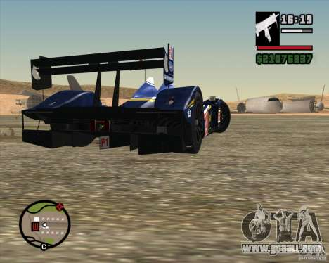 Acura ARX LMP1 for GTA San Andreas side view
