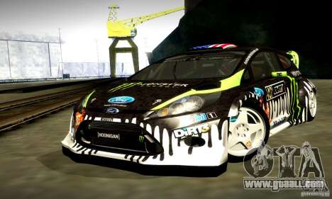 Ford Fiesta Gymkhana 4 for GTA San Andreas side view
