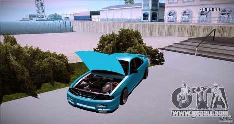 Nissan Silvia S14 JDM WAY for GTA San Andreas back left view