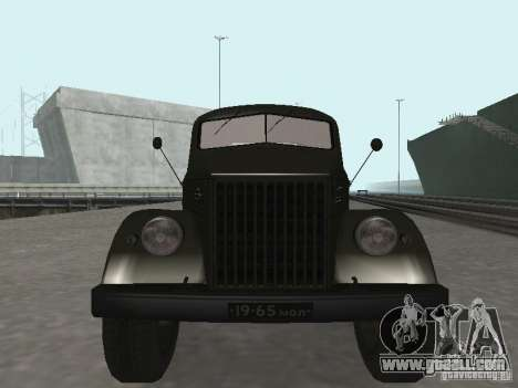 GAZ 51 p for GTA San Andreas back view