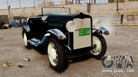 Ford Model T Sabre 1924 for GTA 4