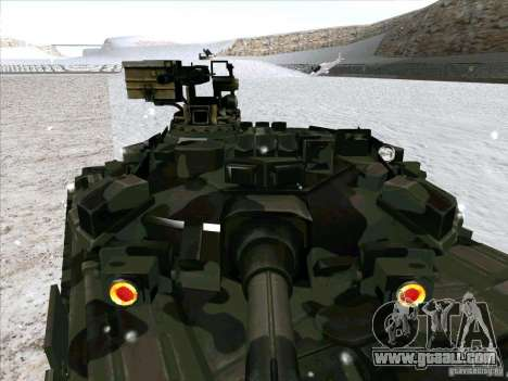 T-90 from Battlefield 3 for GTA San Andreas inner view