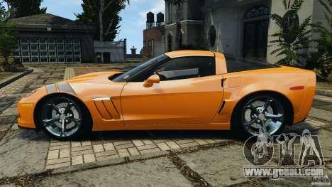 Chevrolet Corvette C6 Grand Sport 2010 for GTA 4 left view