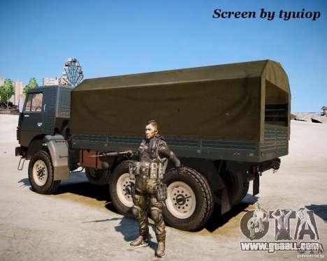 Modern Warfare 2 Soap for GTA 4 second screenshot