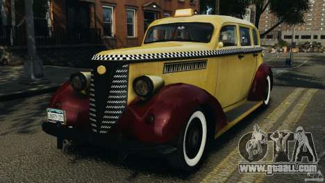 Shubert Taxi for GTA 4