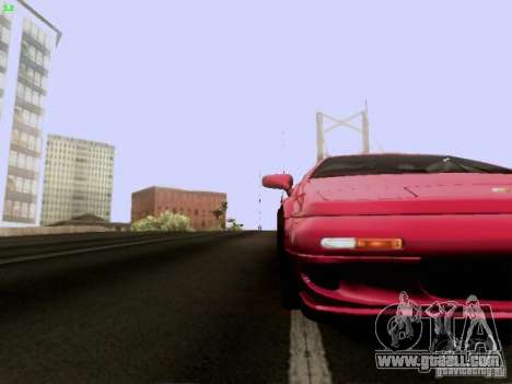 Lotus Esprit V8 for GTA San Andreas upper view
