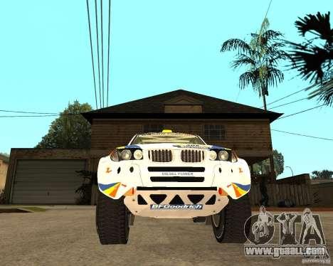 BMW X3CC X-Raid for GTA San Andreas back view