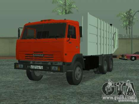 KAMAZ 53215 garbage truck for GTA San Andreas