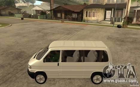 Volkswagen Transporter T4 for GTA San Andreas left view