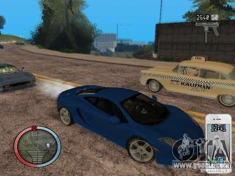 GTA IV HUD Final for GTA San Andreas ninth screenshot