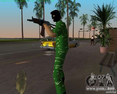 AK-74U for GTA Vice City