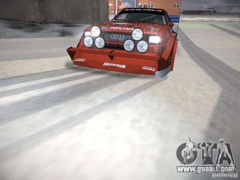 Audi Quattro Pikes Peak for GTA San Andreas engine