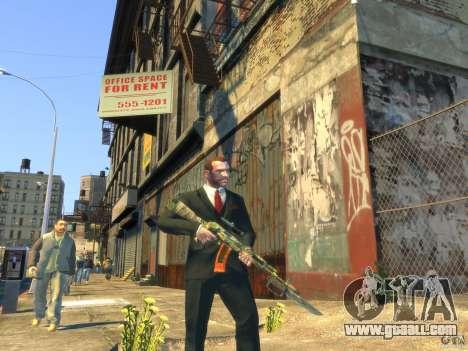 AK-47 for GTA 4 fifth screenshot