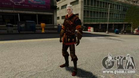 Geralt of Rivia v2 for GTA 4 forth screenshot