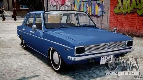 Peykan 1348 1970 for GTA 4 left view