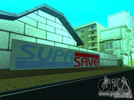 New texture shop SupaSave for GTA San Andreas forth screenshot