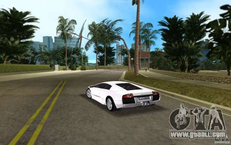 Lamborghini Murcielago V12 6,2L for GTA Vice City back left view