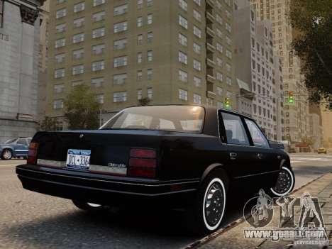 Oldsmobile Cutlass Ciera 1993 for GTA 4 left view