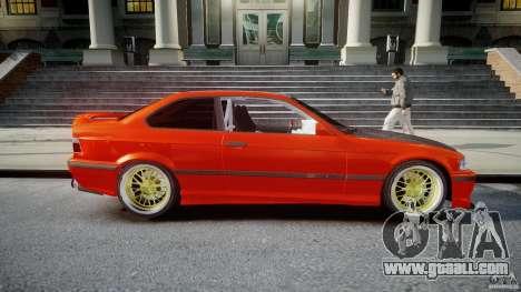 BMW E36 Alpina B8 for GTA 4 side view