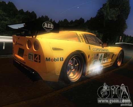 Chevrolet Corvette Drift for GTA San Andreas right view