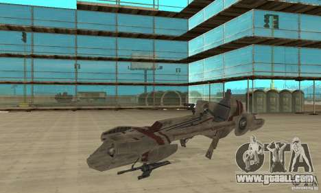 Star Wars speedbike for GTA San Andreas
