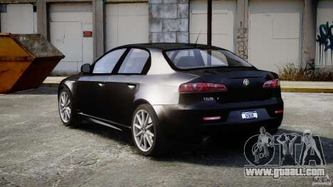 Alfa Romeo 159 Li v2 for GTA 4 inner view