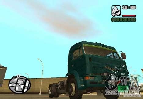 Kamaz 5460 for GTA San Andreas right view