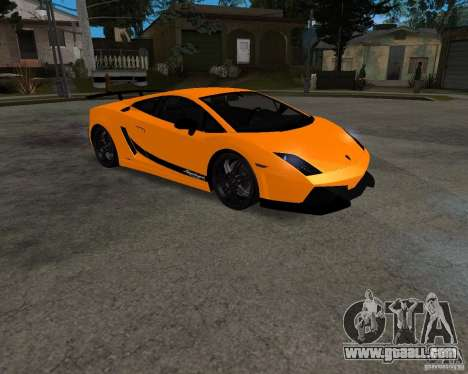 Lamborghini Gallardo LP570 Superleggera for GTA San Andreas left view