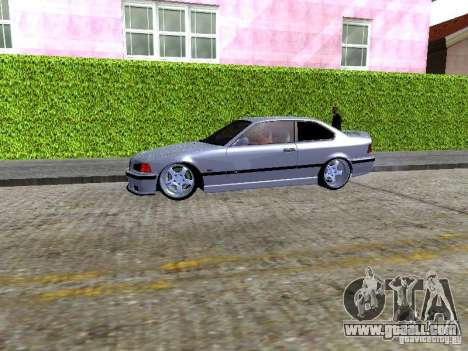 BMW M3 E36 Light Tuning for GTA San Andreas back view