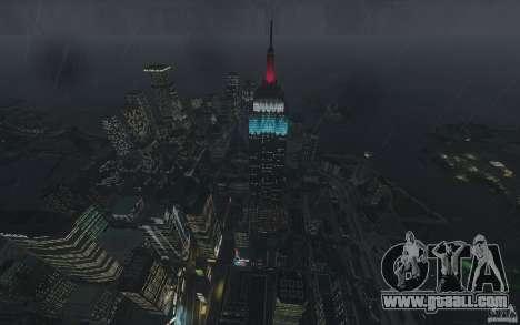Menu and boot screens of Liberty City in GTA 4 for GTA San Andreas seventh screenshot