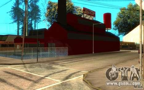 Coca Cola Factory for GTA San Andreas second screenshot
