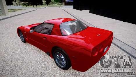 Chevrolet Corvette C5 v.1.0 EPM for GTA 4 left view
