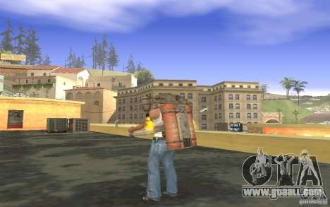 Jetpack in the style of the USSR for GTA San Andreas seventh screenshot