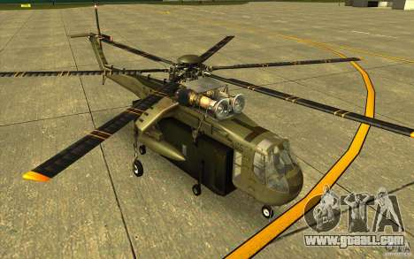 Sikorsky CH-54 Tarhe for GTA San Andreas