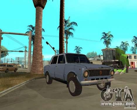 Kopeyka (corrected) for GTA San Andreas back view