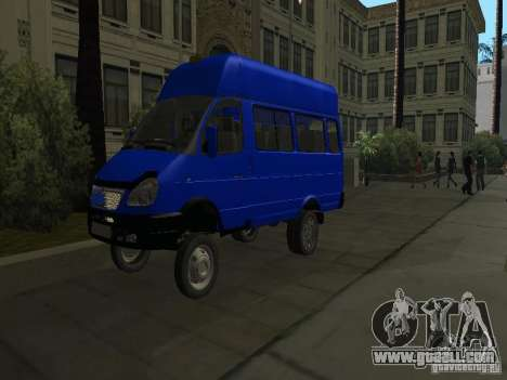 Gazelle 32213 taxi for GTA San Andreas side view