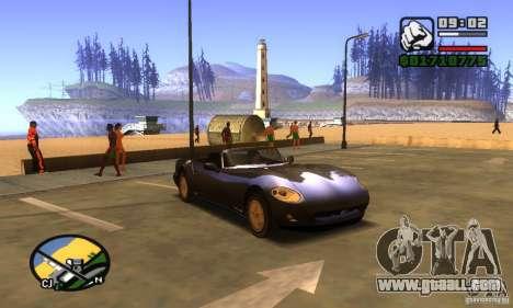 New Banshee [HD] for GTA San Andreas left view