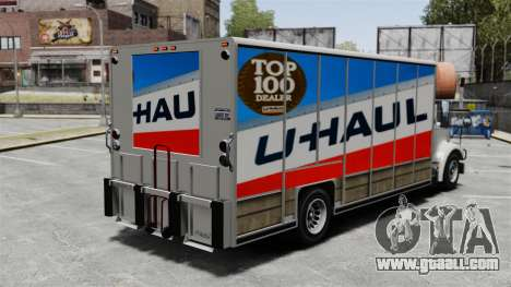 U-Haul Trucking for GTA 4 second screenshot