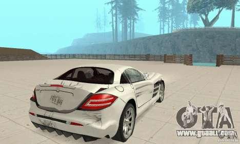 Mercedes-Benz McLaren V2.3 for GTA San Andreas wheels