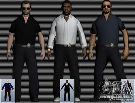 New FBI Agents for GTA San Andreas